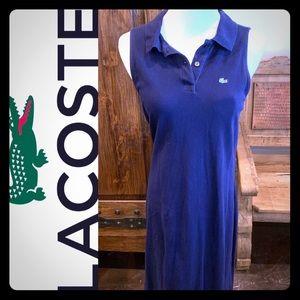 Navy Lacoste polo sleeveless dress  🐊 👗